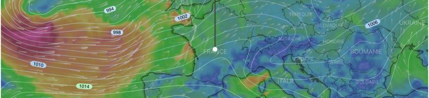 carte de prévision météo chasseur